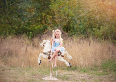 children, puyallup, photographer, carosal horse, dollcakes dresses, fairy tale shoot-1