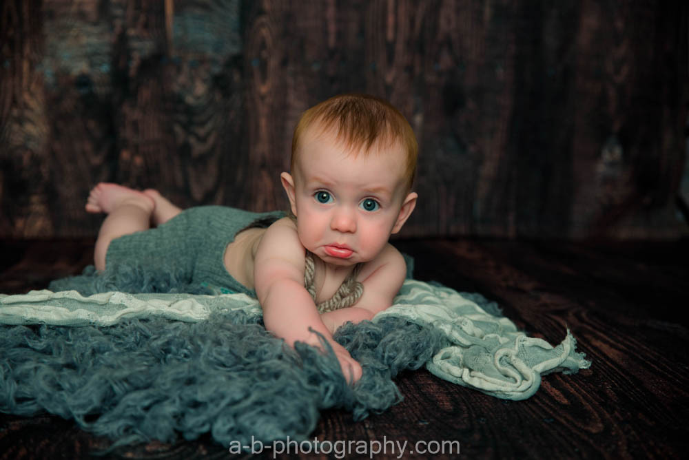 Mr. B, turns 6 months >> Puyallup Photographer