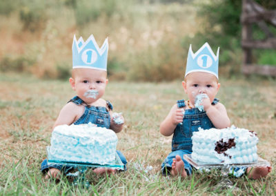 puyallup child photographer twins boys girls outdoor cakesmash family -38