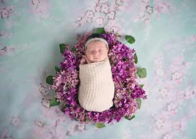 newborn, puyallup, photographer, baby girl, pink, flowers, deer, mom and baby, macro-14