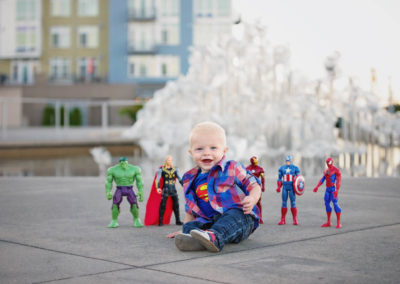 puyallup, children, photographer, child, boy, one year, superman, tacoma, super hero-18