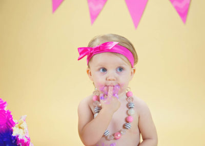puyallup, photographer, grow with me, one years old, indoor studio, cake smash, girl-2-2