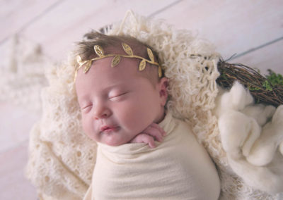 newborn, puyallup, photographer, girl, baby girl, wedding dress -24