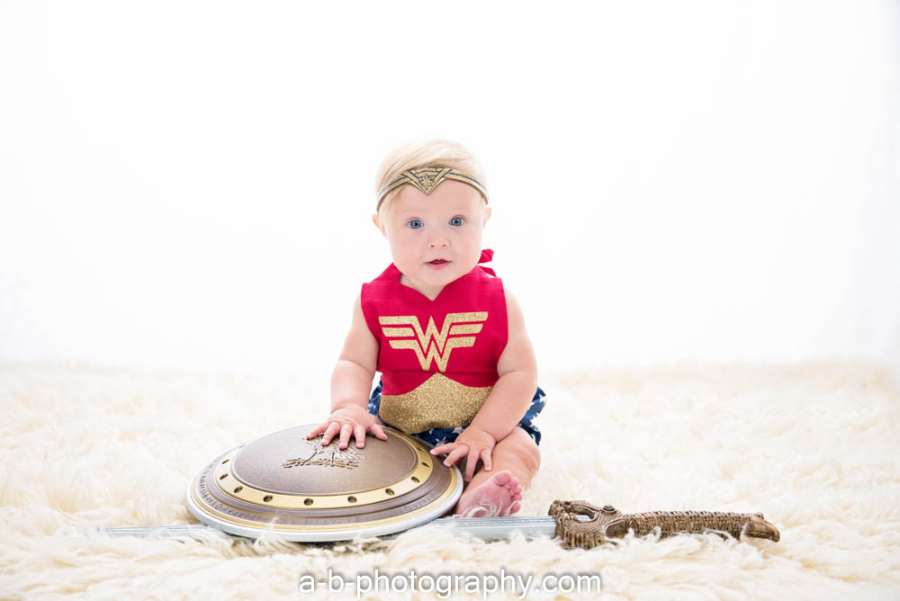 Wonder Women, 6 months >> Puyallup Photographer
