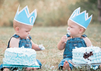 puyallup child photographer twins boys girls outdoor cakesmash family -36