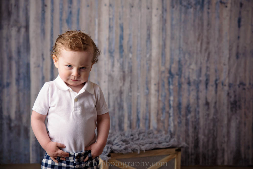 Wyatt, 18 month >> Puyallup Children Photographer