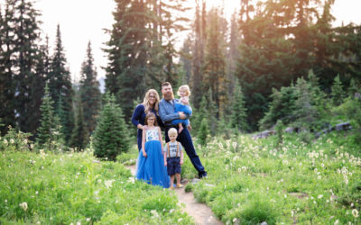 Mt. Rainier, Family Session >> Puyallup Photographer